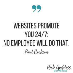 Websites promote you 24/7: No employee will do that - Paul Cookson